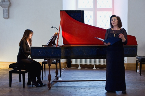 Maria Luisa Baldassari and Laura Antonaz