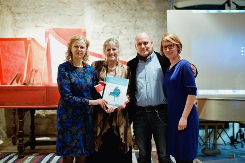 "Presentation of ""The Contemporary Harpsichordist"": Imbi Tarum, Elaine Funaro, Christian Fischer, Saale Fischer"