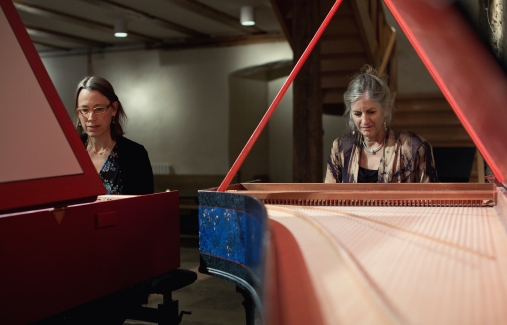 Rebecca Pechefsky and Elaine Funaro